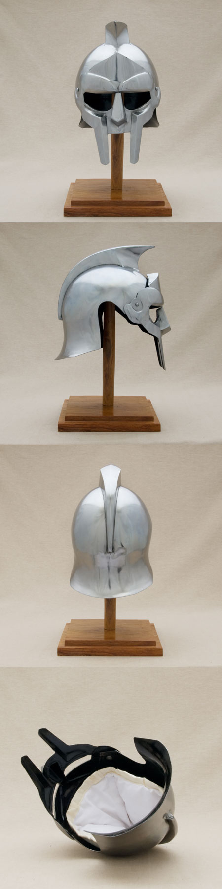 Cabeza para poner los auriculares. AH014-gladiator-maximus-film-helmet