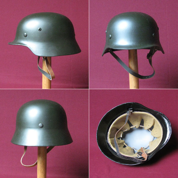 German M35 helmet, WW2, best quality reproduction, size L