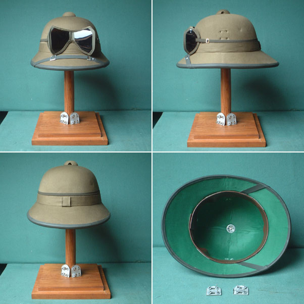 German tropical pith helmet Northern Africa 1941-1943