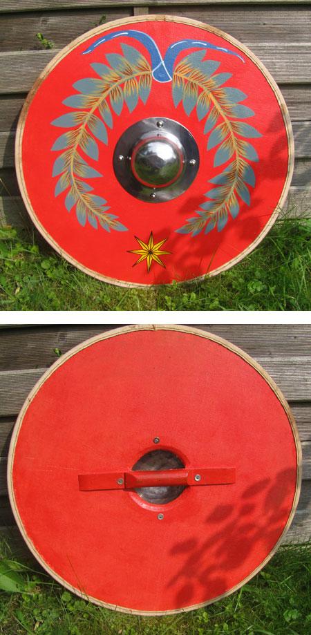 roman round shield parma