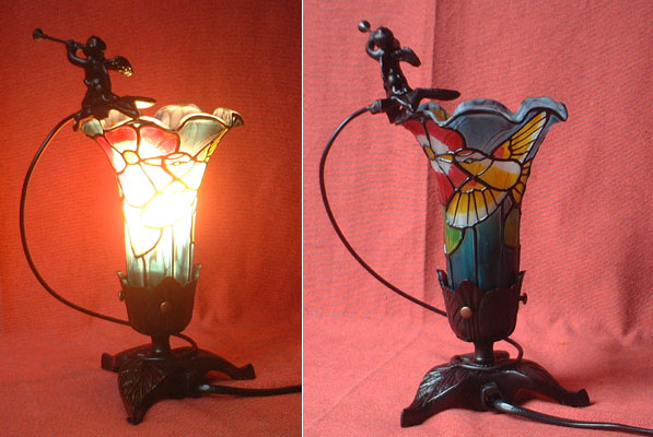 art nouveau table lamp tiffany reproduction. Black Bedroom Furniture Sets. Home Design Ideas