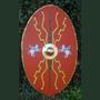 Roman oval shield scutum 200 BC till 50AD